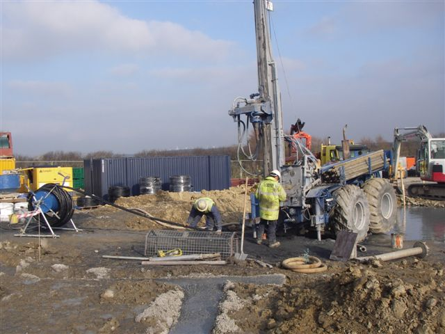 Ground Source Heat Pump Drilling for a Commercial VentureGround Source Heat Pump Drilling for a Commercial Venture