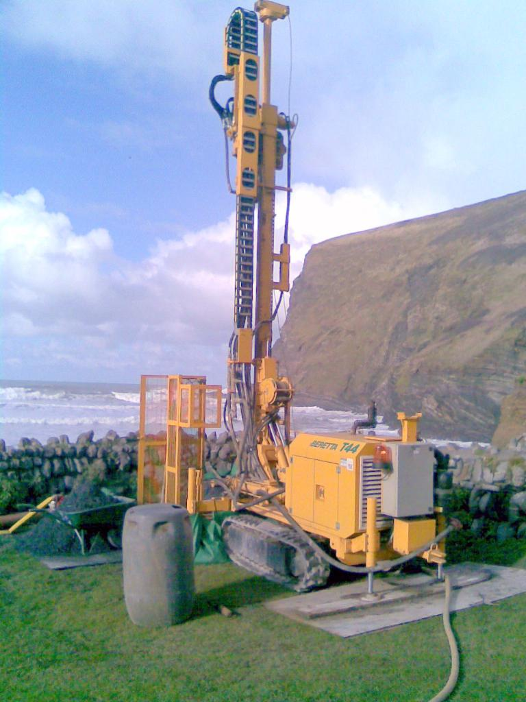 Ground Source Drilling in Cornwall