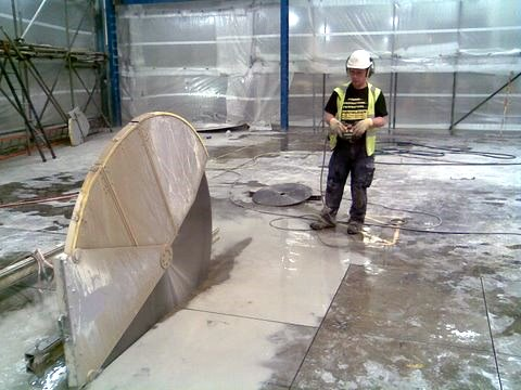 Floor Sawing and Concrete Cutting