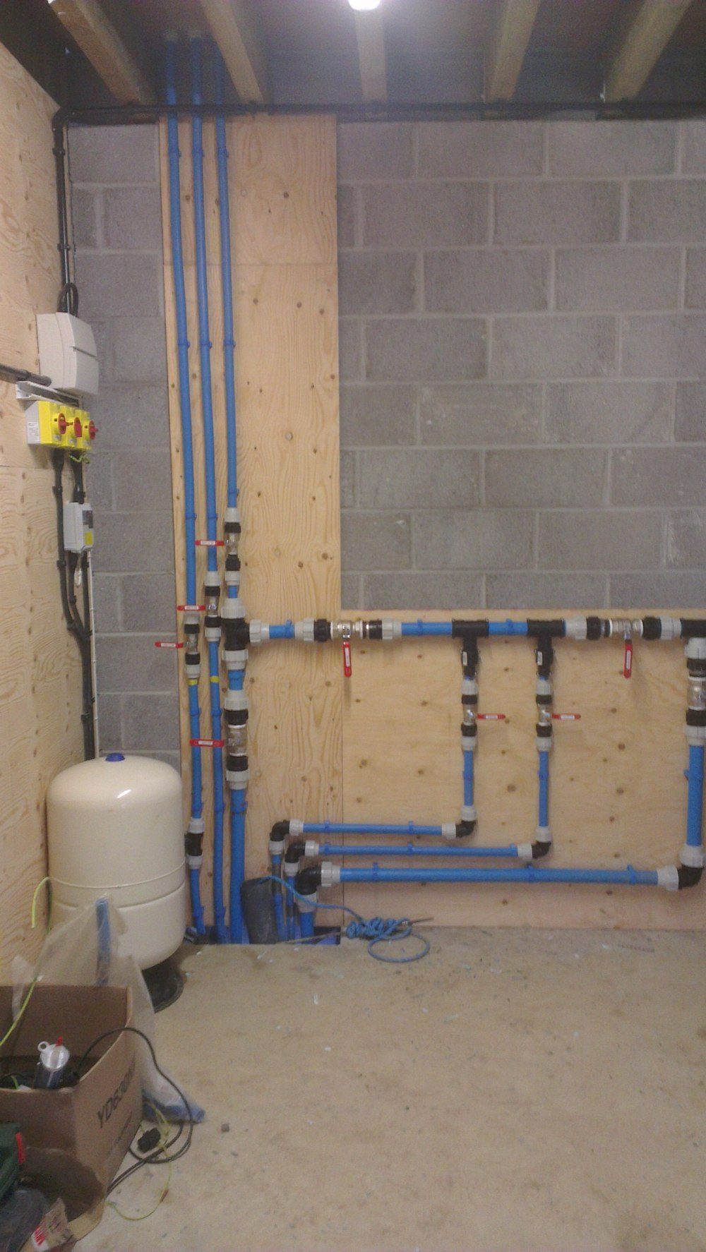 Pipework and water filtration